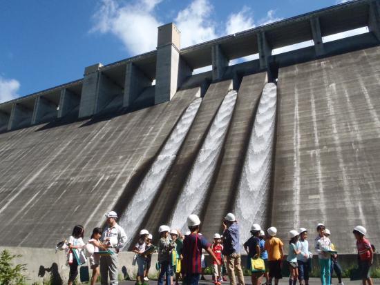 山梨県/ようこそ塩川ダムへ