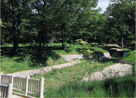 ケヤキの森と治山施設 「稲山ケヤキの森」へのアクセス 笛吹市立浅川中学校から岡集落方面へ進み、ふ