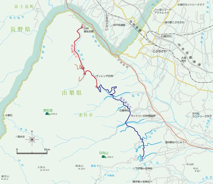 林道位置図